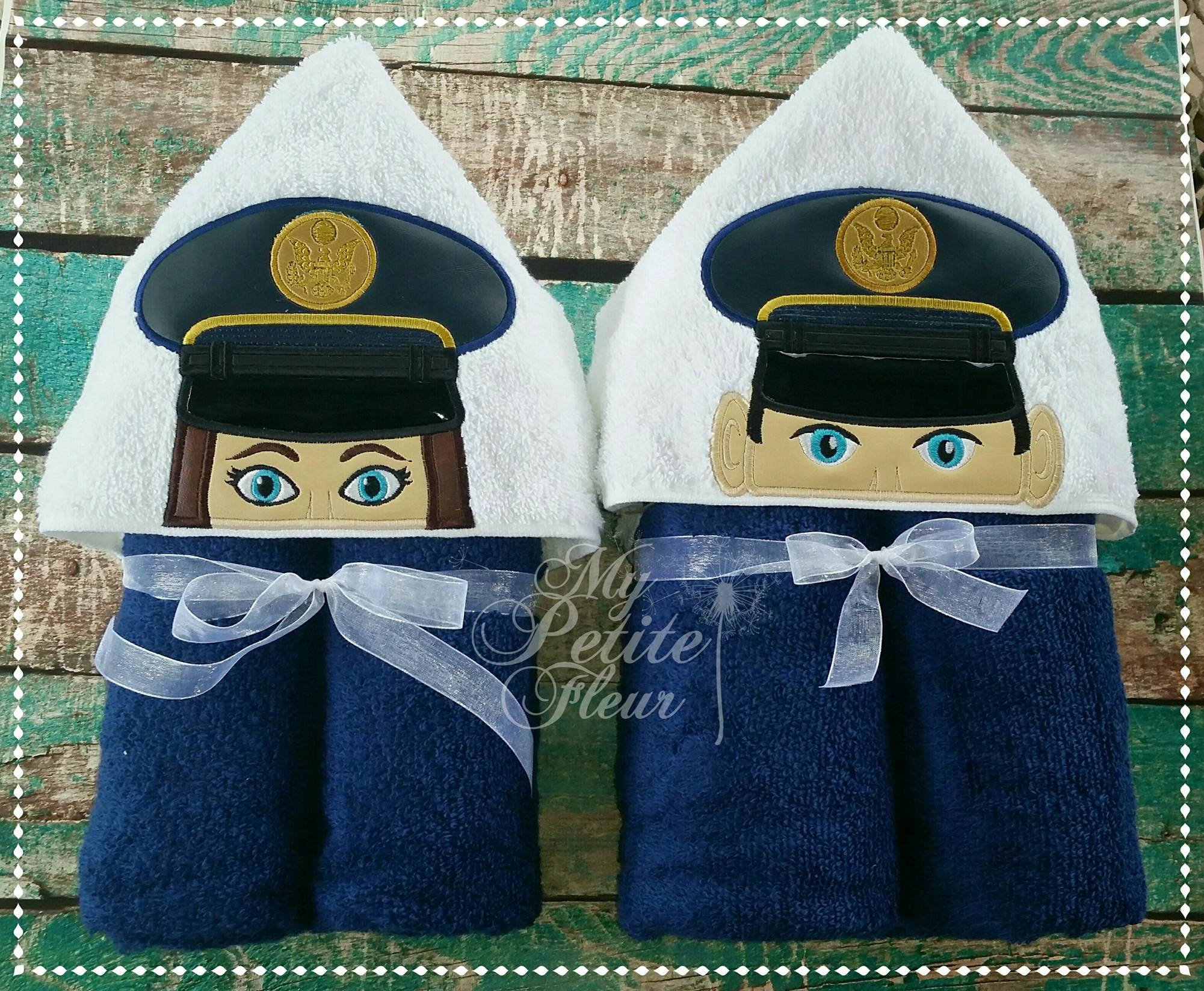 US Military 5 Branches + Army Berets Man & Girl Designs (Both Sizes)