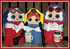Hooded Towels My Petite Fleur Designs